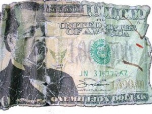 Fake Million 300x225 $500 Bill Leads Police to $66 Million Worth of Fake Cash