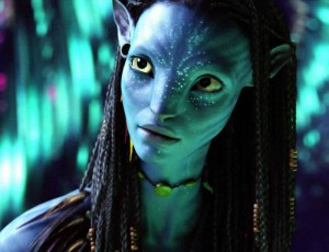 avatar zoe saldana 1 300x230 Avatar Smashes Box Office Record
