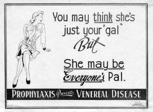vintage ads disease 300x221 Vintage Advertising   Ah, the Good Old Days!