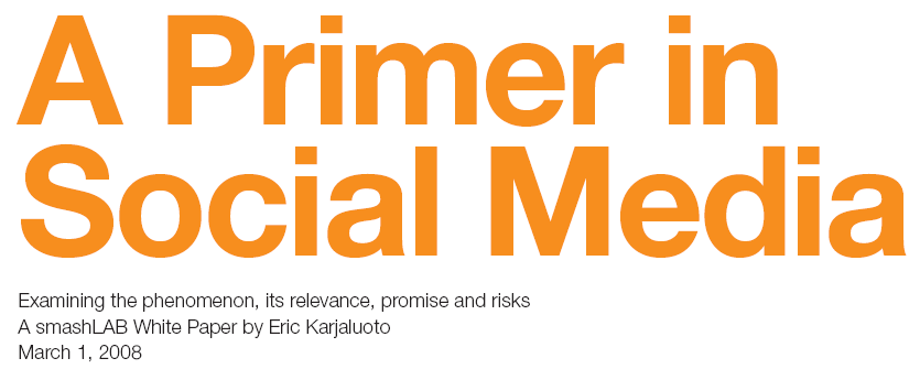 A Primer in Social Media 16 Free eBooks on Social Media