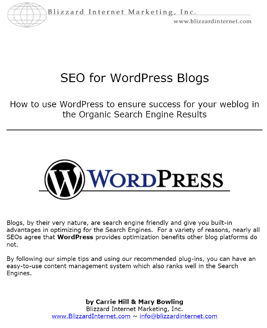 SEO for WordPress Blogs 16 Free eBooks on Social Media
