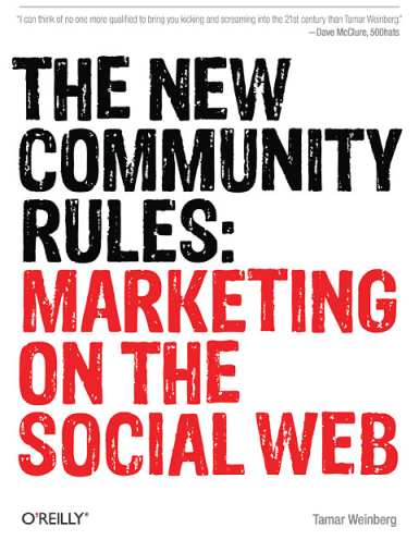 the new community rules marketing on the social web 18 Great Books on Social Media (Part 1)
