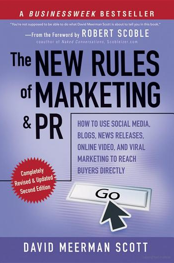 the new rules of marketing and pr 18 Great Books on Social Media (Part 3)