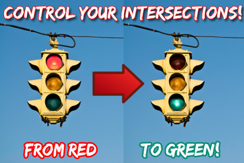 traffic light changer1 Traffic Light Changer iPhone App!