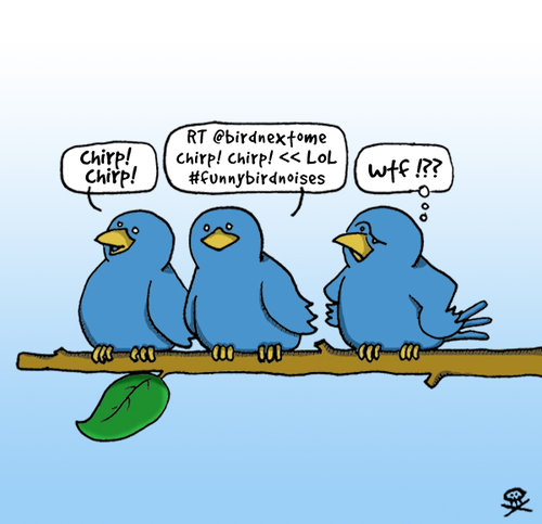twitter birds on branch Twitter No Nos: To Tweet & Not to Tweet!