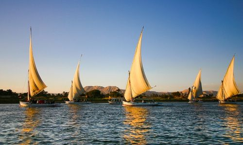 felucca nile Promenade Up the Nile