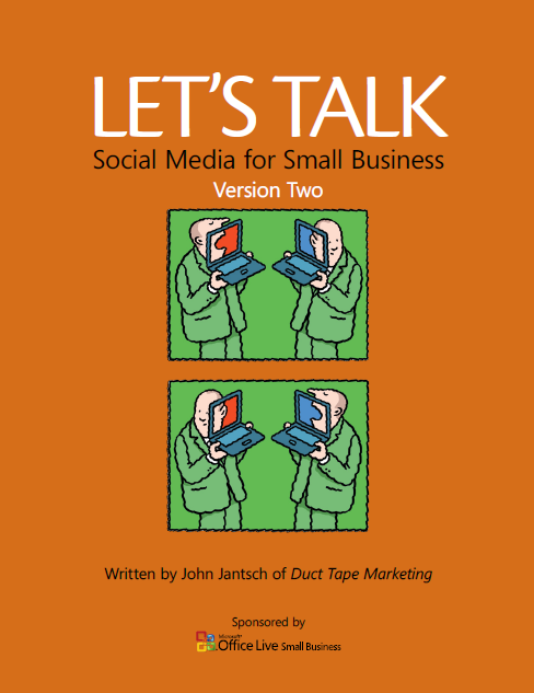 lets talk 9 Free eBooks on Social Media