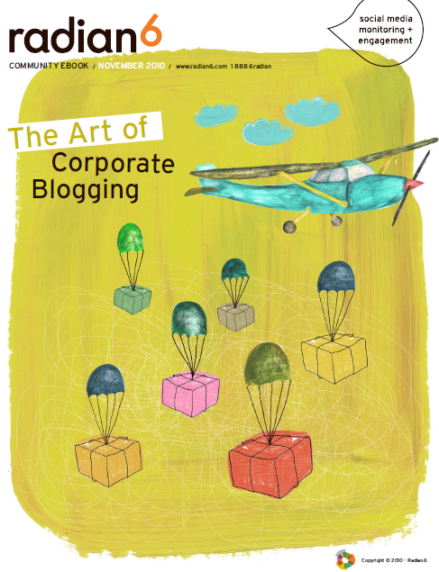 the art of corporate blogging1 9 Free eBooks on Social Media
