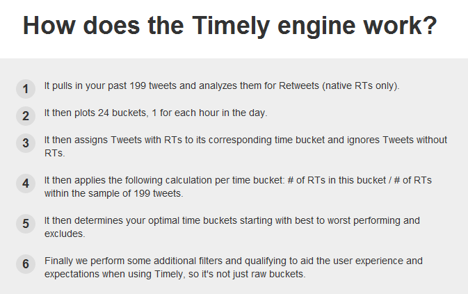 How does Timely work1 Are Your Tweets Timely?