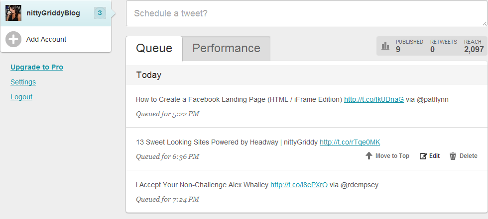 Timely queue Are Your Tweets Timely?
