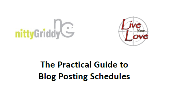 Practical Guide to Blog Posting Schedules Bring IT! I Brought IT with a Guide for Blog Post Schedules!