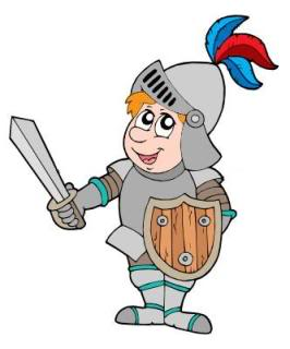 Knight in Shining Armor Cartoon The 9 Types of Blog Commenters   Have You Met Them?